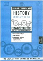 Edco JC History Ordinary Level Exam Papers incl 2014