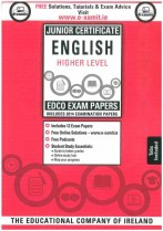 Edco JC English Higher Level Exam Papers incl 2014